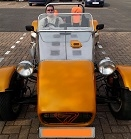 Team photo - Neil with his kit car